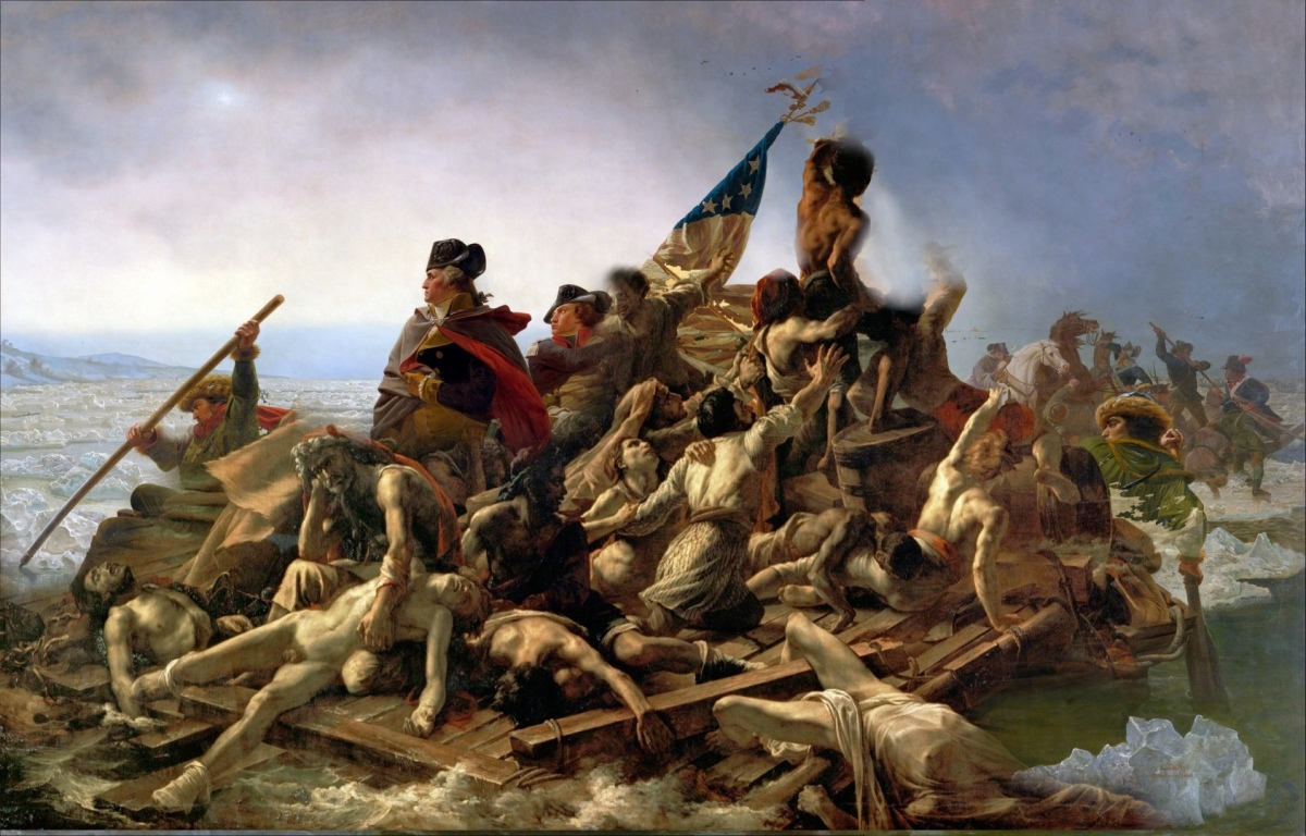 Washington Crossing the Delaware and Raft of the Medusa