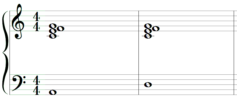alternate bass notes