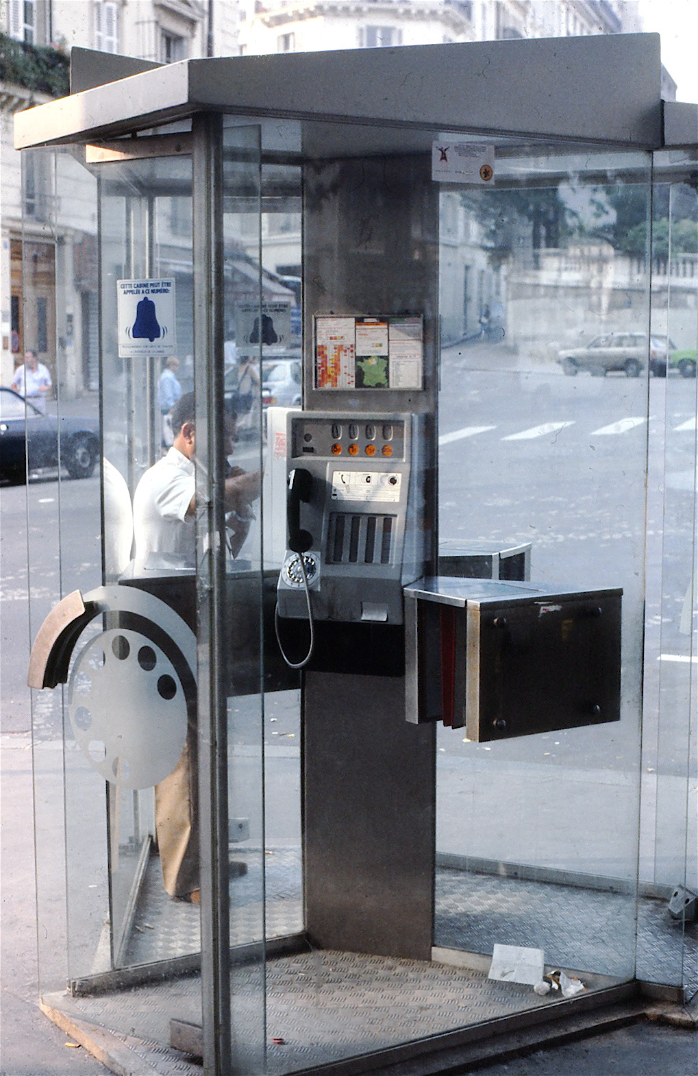 Paris Telephone Booth