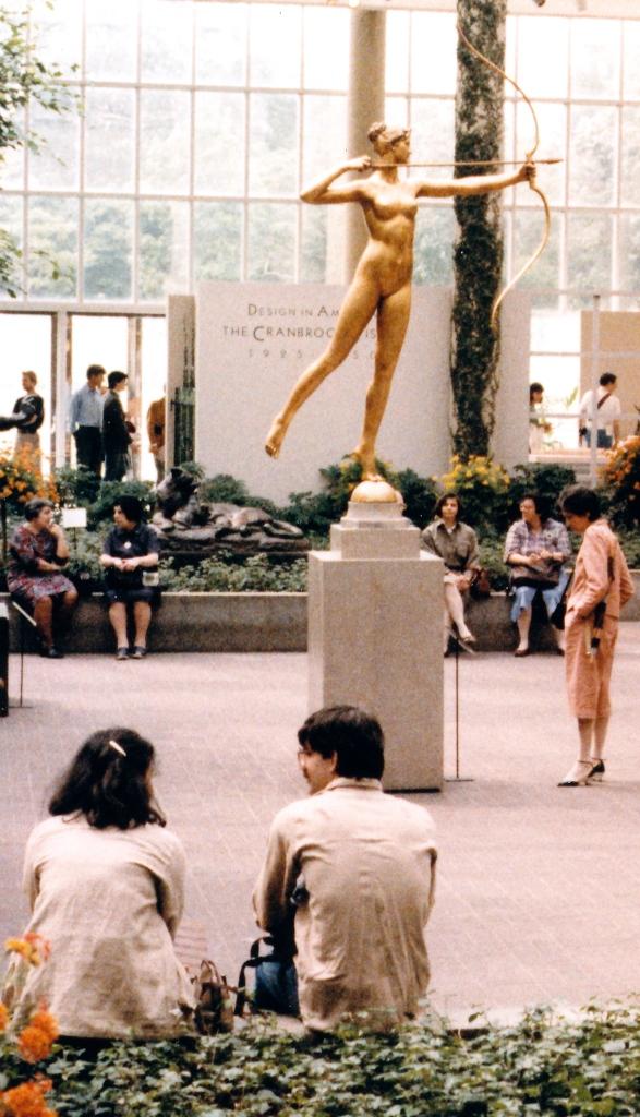 Sculpture Court Of The Met 3