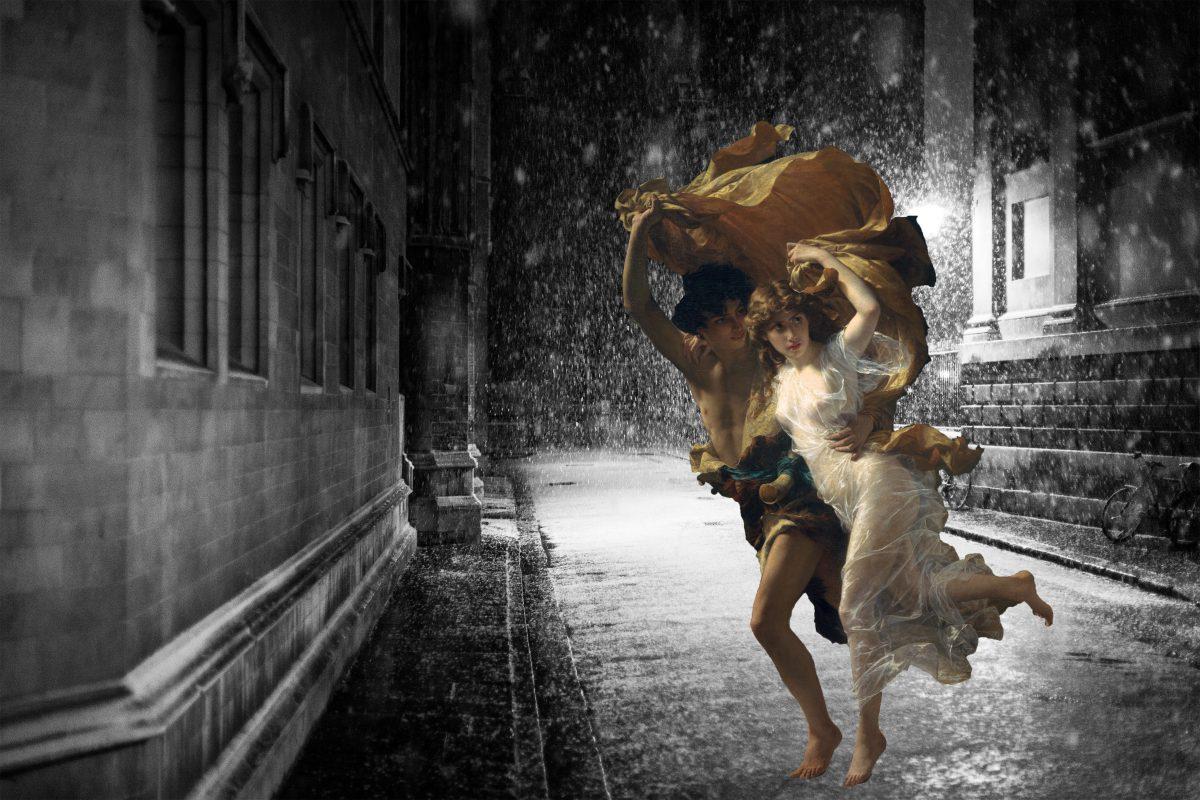 Pierre Auguste Cot The Storm