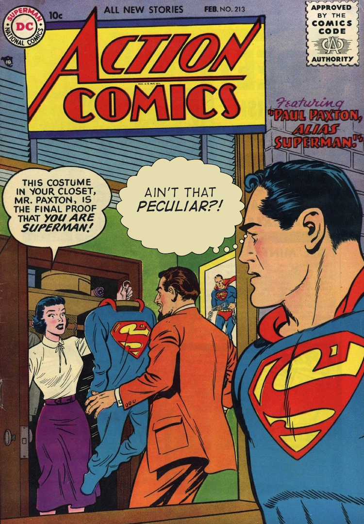 Action Comics Parody 1080