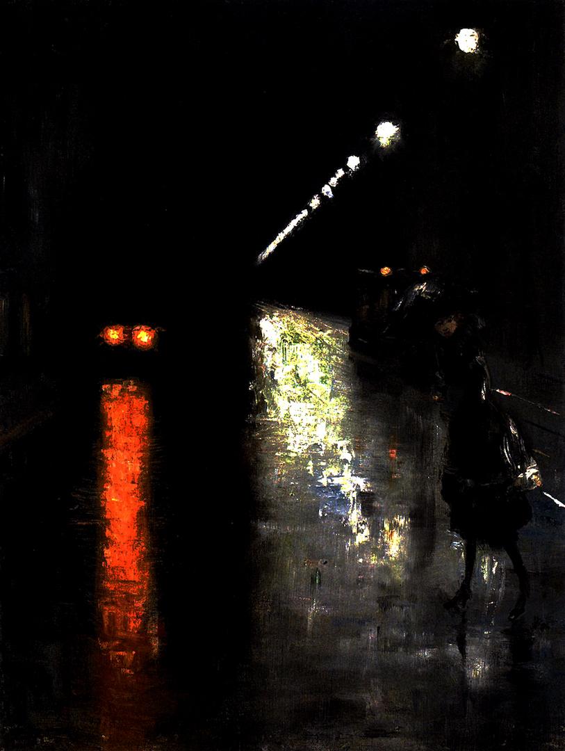 Nocturnal Street Scene Edit 1080